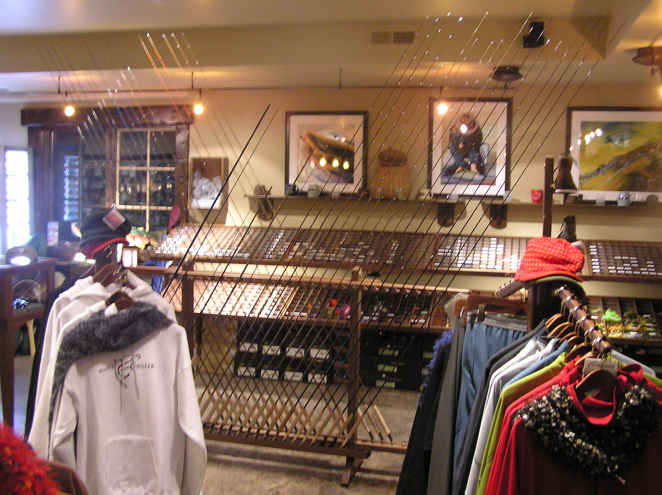 Fly fishing shop brown mountain building for Fly fishing stores